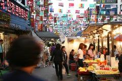 South Gate, Nam Dae Mun in Korean, Market Royalty Free Stock Image