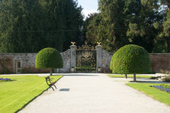 South Gate of Powerscourt Estate, Enniskerry, County Wicklow, Ireland Stock Image