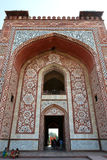South Gate of the Tomb of Akbar the Great Stock Photo