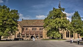 Abbey maulbronn famous christian destination royalty free stock image