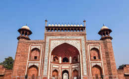 South Grand entrance gate of Taj Mahal, Agra, India Royalty Free Stock Photography