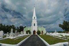 South Hampton, Bermuda, June 27, 2018 - Local church on the island of Bermuda Stock Photo