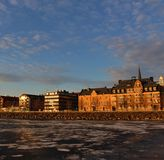 South Harbor in Luleå Royalty Free Stock Photo