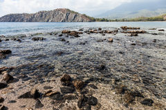 South harbour of Ancient Phaselis at Turkey Stock Images