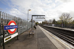 South Harrow Tube Station Royalty Free Stock Photography