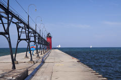 South Haven Lighthouse Stock Photography