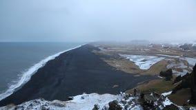 South Iceland coast stock video