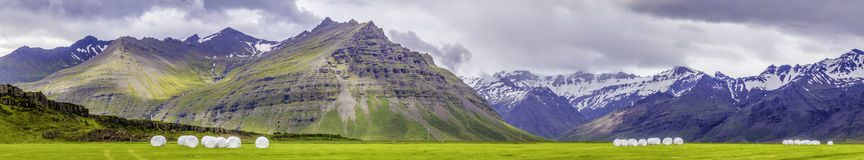 South Iceland Panorama Royalty Free Stock Image