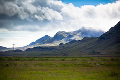 South Icelandic mountain landscape Stock Image