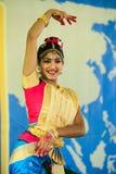 Indian Classical Dancer Royalty Free Stock Photos
