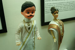 South Indian Couple cloth Doll Stock Images