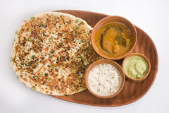 South Indian Dish Uthappam Royalty Free Stock Photography
