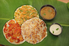 South Indian Dish Uthappams Stock Photography