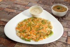 South Indian Dish Uthappams Stock Photos