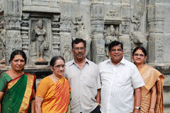 South Indian Family Royalty Free Stock Photos