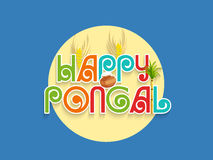 South Indian festival Happy Pongal celebration concept. Royalty Free Stock Photography