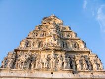 South Indian Gopuram. royalty free stock image