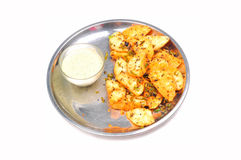South indian idli dish Royalty Free Stock Images