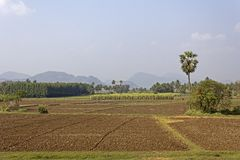 South-Indian landscape Stock Photo