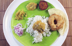 South indian meals Royalty Free Stock Photography
