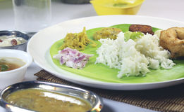 South indian meals Stock Photo