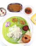 South indian meals Royalty Free Stock Images