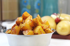 South Indian Potato Fry Royalty Free Stock Images