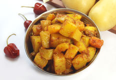South Indian Potato Fry Stock Images