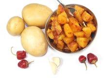 South Indian Potato Fry Stock Photos