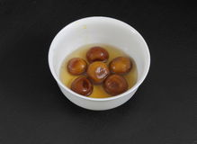 South Indian sweet gulab jamun Royalty Free Stock Image
