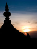 South Indian Temple Dome. Royalty Free Stock Images