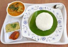 South Indian Vegetarian Meal Stock Photos
