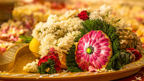 South Indian wedding bouquet Royalty Free Stock Photos