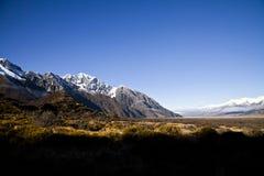 South Island Landscape, New Zealand. South Island Landscape Scenery, Canterbury, New Zealand Royalty Free Stock Image