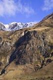 South Island Landscape, New Zealand. South Island Landscape Scenery, Central Otago, New Zealand Stock Photo
