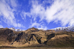 South Island Landscape, New Zealand. South Island Landscape Scenery, Central Otago, New Zealand Royalty Free Stock Photos