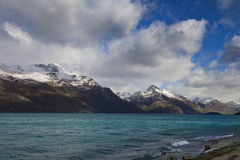 South Island Landscape, New Zealand. South Island Landscape Scenery, Central Otago, New Zealand Royalty Free Stock Photography