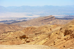 South of Israel, down to the Red Sea Stock Image