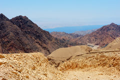 South of Israel, down to the Red Sea Royalty Free Stock Image