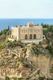 The south Italy, area Calabria, church of Tropea city Royalty Free Stock Photography