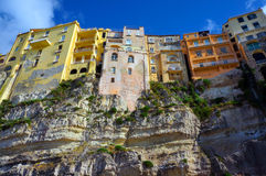 The south Italy, area Calabria, Tropea city Stock Photography