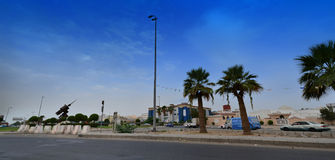 South of Jeddah, the commercial market royalty free stock image