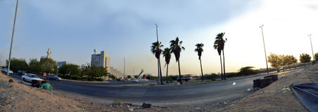 South Jeddah panoramic image Royalty Free Stock Photo