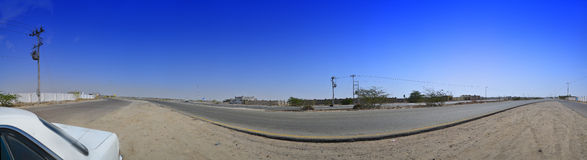 South Jeddah panoramic image Stock Image