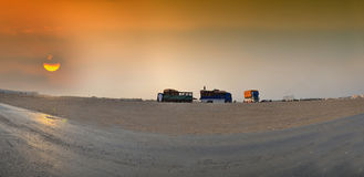 South Jeddah panoramic image Stock Photos