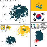 South Jeolla Province, South Korea Stock Photo
