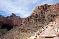 South Kaibab Trail. And O'Neill Butte Royalty Free Stock Image