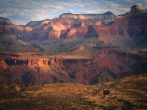 South Kaibab Trail. Early monring on the South Kaibab trail in Grand Canyon National Park Stock Image