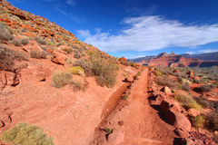 South Kaibab Trail of Grand Canyon Royalty Free Stock Images