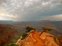 South Kaibab trail, Grand Canyon. View from South Kaibab trail, Grand Canyon Stock Photo